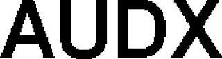 AUDX trademark