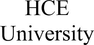 HCE UNIVERSITY trademark