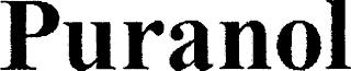 PURANOL trademark