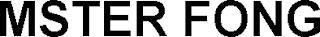 MSTER FONG trademark