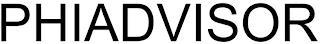PHIADVISOR trademark