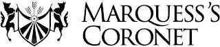 MARQUESS'S CORONET trademark