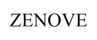 ZENOVE trademark