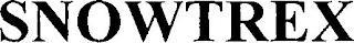 SNOWTREX trademark