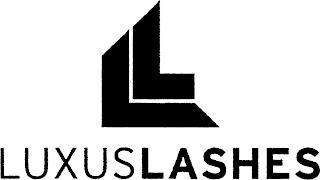 LL LUXUSLASHES trademark
