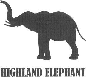 HIGHLAND ELEPHANT trademark