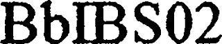 BBIBS02 trademark