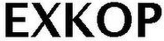 EXKOP trademark