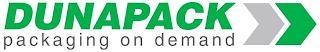 DUNAPACK PACKAGING ON DEMAND trademark