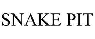 SNAKE PIT trademark