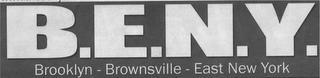 B.E.N.Y. BROOKLYN - BROWNSVILLE - EAST NEW YORK trademark