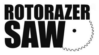 ROTORAZER SAW trademark