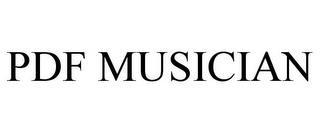 PDF MUSICIAN trademark
