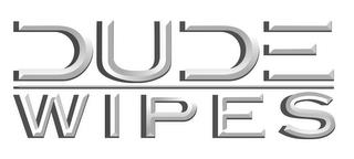 DUDE WIPES trademark