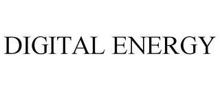 DIGITAL ENERGY trademark