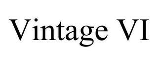 VINTAGE VI trademark