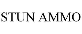STUN AMMO trademark