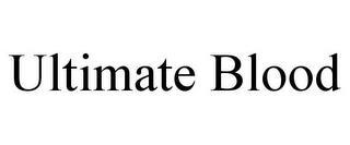 ULTIMATE BLOOD trademark