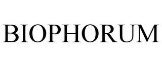 BIOPHORUM trademark