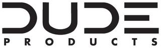 DUDE PRODUCTS trademark