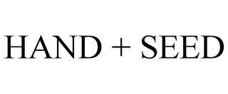 HAND + SEED trademark