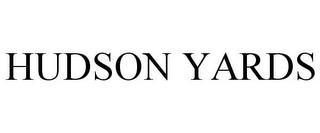HUDSON YARDS trademark