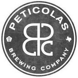 BPC PETICOLAS BREWING COMPANY 2010 trademark