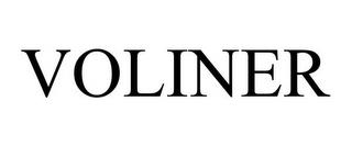 VOLINER trademark