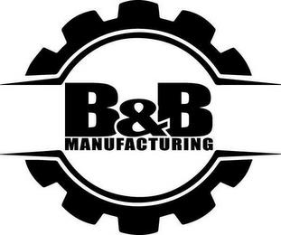 B&B MANUFACTURING trademark