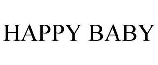 HAPPY BABY trademark