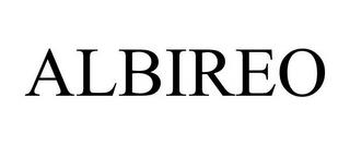 ALBIREO trademark
