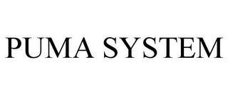 PUMA SYSTEM trademark