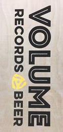 VOLUME RECORDS BEER trademark