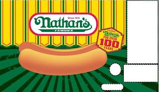 SINCE 1916 NATHAN'S FAMOUS THE ORIGINALNATHAN'S FAMOUS FOR OVER 100 YEARS trademark