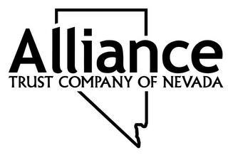 ALLIANCE TRUST COMPANY OF NEVADA trademark