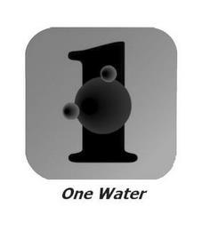 1 ONE WATER trademark