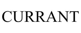 CURRANT trademark