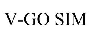 V-GO SIM trademark