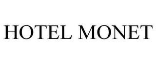 HOTEL MONET trademark