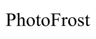 PHOTOFROST trademark