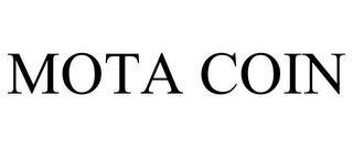 MOTA COIN trademark