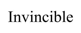 INVINCIBLE trademark