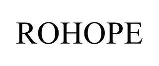 ROHOPE trademark