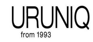 URUNIQ FROM 1993 trademark
