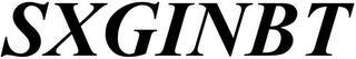 SXGINBT trademark