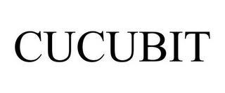 CUCUBIT trademark
