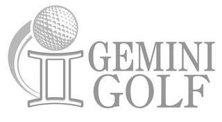 GEMINI GOLF trademark
