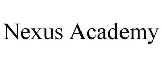 NEXUS ACADEMY trademark