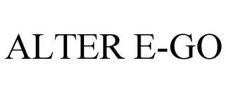 ALTER E-GO trademark