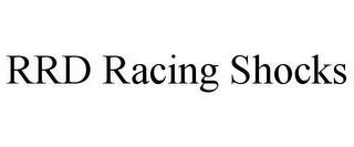RRD RACING SHOCKS trademark